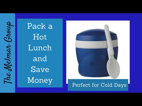 Hot lunch in a Thermos | Save Money