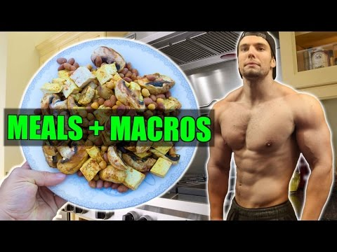 ALL MY MEALS, CALORIES & MACROS | BUILD MUSCLE & LOSE FAT