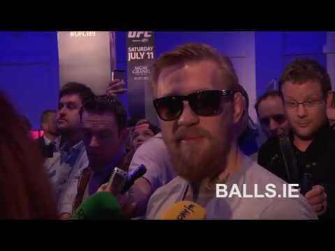 Conor McGregor Speaking In Irish