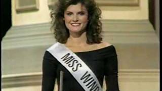Miss Canada 1988. -Opening Number, West Side Story Theme-