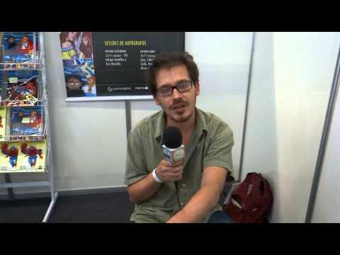 Kris Zullo na Brasil Comic Con 2014