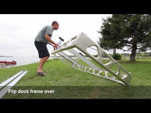 CanadaDocks™ 4x8 Aluminum Joist Kit