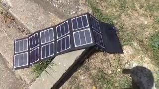 Переносная солнечная панель на 40 Вт из Gearbest