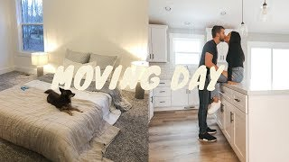OUR FIRST NIGHT & MOVING IN TO THE NEW HOUSE!