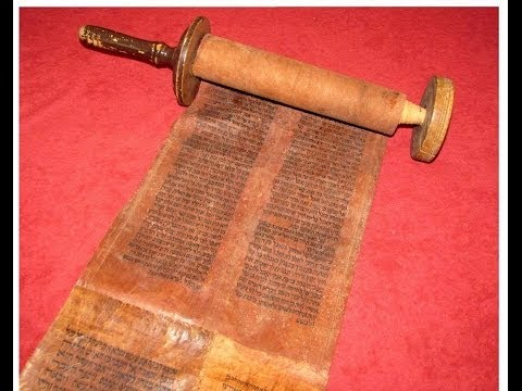 That Old-Time Torah Scroll