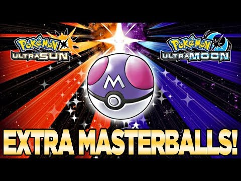 Get FREE EXTRA Master Balls in Pokemon Ultra Sun and Moon Pokemon Global Link | Austin john Plays