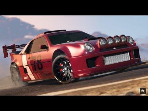GTA 5 online Dlc Velozes e estilosos movo carro de RALLY de $1 000 000