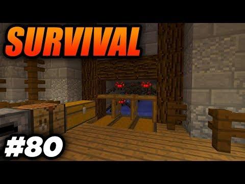 BUILDING THE SPIDER XP FARM! - Minecraft Survival: Episode 80