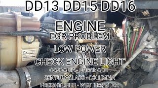 Detroit DD13 DD15 DD16 fuel quantity valve replacement OM