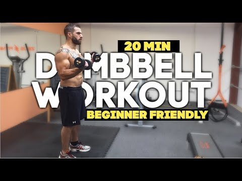20 Minute Full Body Toning Home Dumbbell Workout