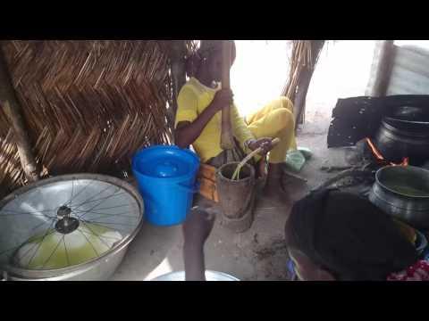 Fulani Family make Wagashi