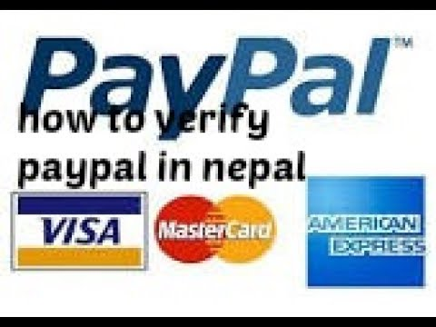 how to verify paypal account in nepal