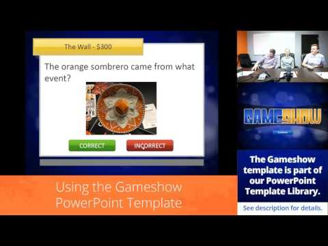 Facebook Live: Using the Gameshow PowerPoint Template