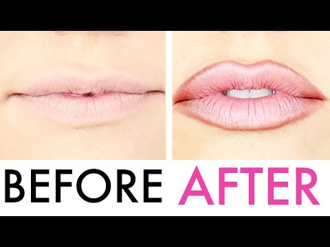 How To Fake Lip Injections  (like Kylie Jenner)