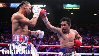 Manny Pacquiao says he has no plans to retire after defeating Keith Thurman