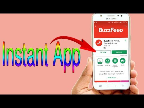Instant App Android How To Use App Without Installing Google Play Store New Features