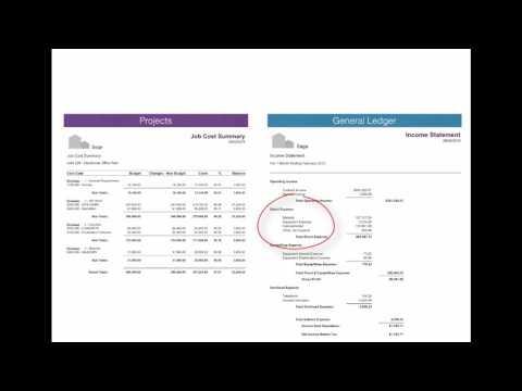 Understanding Cost Codes vs GL Accounts - Sage 100 Contractor