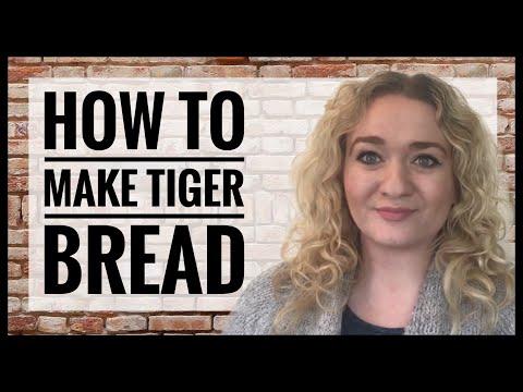 How To Make Tiger Bread - Homemade Tiger Bread Recipe