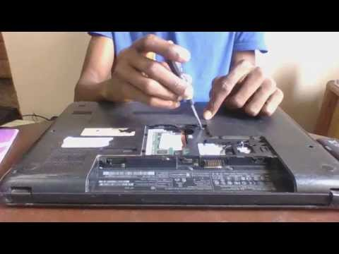 How to remove HP 600 series 630, 650 laptop CD/DVD DRIVE (ROM)