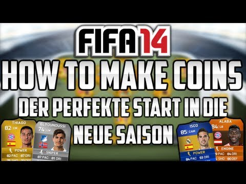 FIFA 14 Ultimate Team - Der perfekte Start [How To Make Coins]