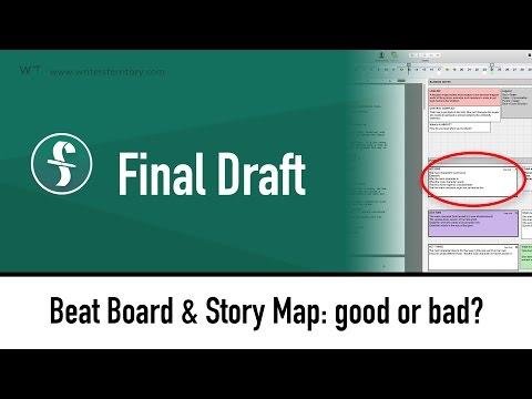 Final Draft 10 Beat Board & Story Map: good or bad?