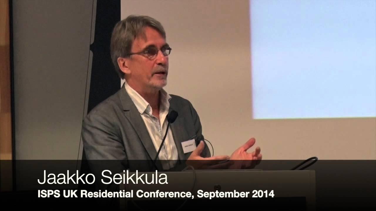 Jaakko Seikkula - Challenges in Developing Open Dialogue Practice