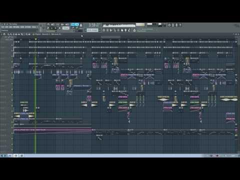 FL Studio 12 Glitch Hop - The Feeling [Free FLP]