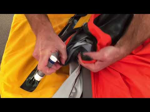 How to Clean and Lubricate a Sailing Dry Suit Zipper | Expert Advice