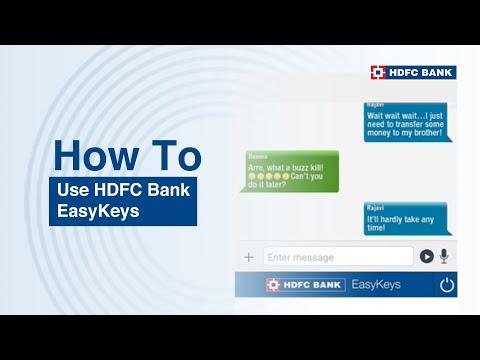 Introducing HDFC Bank EasyKeys