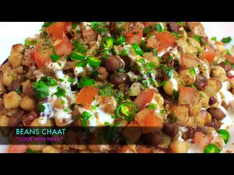 3 BEANS CHAAT *COOK WITH FAIZA*