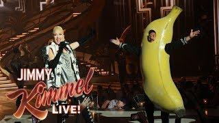 Guillermo Becomes Gwen Stefani's Back Up Dancer
