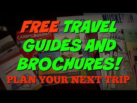 Planning your next RV trip with FREE travel guides and brochures