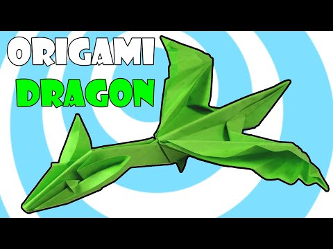Easy Origami Dragon A4 Instructions (Origamite)