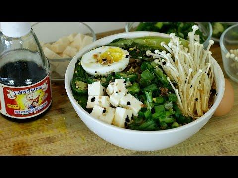 DIY Gourmet Ramen from Instant Noodles
