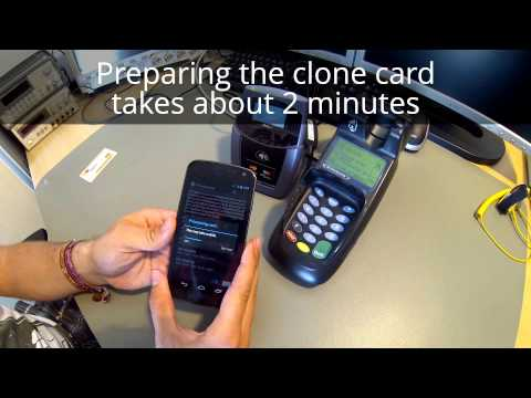 *NEW!  Cloning Credit Cards: Pre-play and downgrade attack (full length)
