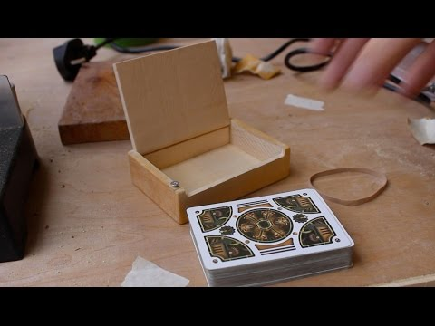 How to make a Card box