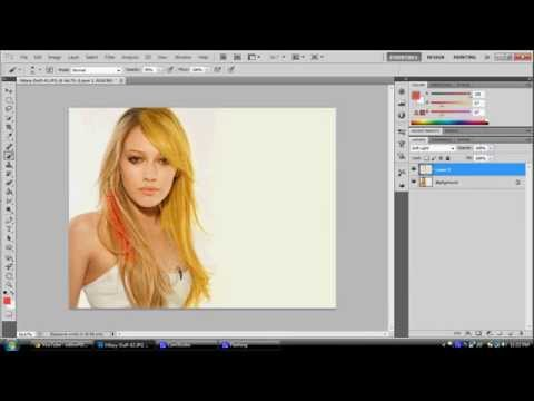 eQuick Tips:How to Change Hair Colour using Adobe Photoshop cs5