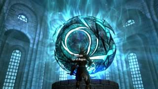 The Elder Scrolls V Defeat Ancano Solo Wood Elf