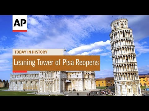 Leaning Tower of Pisa Reopens - 2001 | Today In History | 15 Dec 17