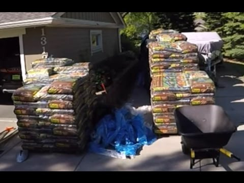 36 yards of mulch in Maple Grove