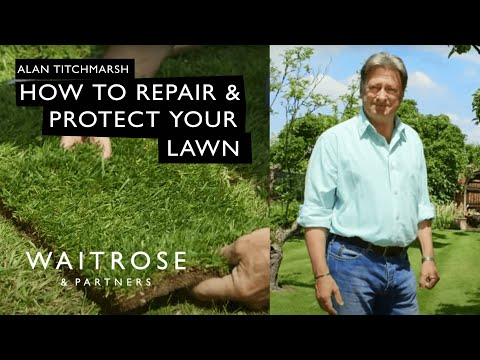 Alan Titchmarsh's Summer Garden | How to Repair and Protect Your Lawn | Waitrose