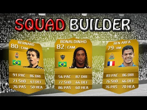 FIFA 14 | 10k Skill Squad Builder | ft. 6 Players with 5 Star Skills