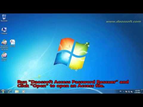 Access Password Unlocker - Find Lost MS Access Database Password