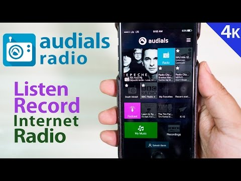 Best Internet Radio App for iPhones with Recording Feature- Audials Radio (FREE) | Sponsored