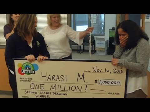 Secretary Shocked When Tornado Drill Is Actually $1M Lottery Surprise