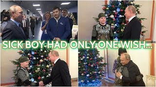 TOUCHING: Putin Almost Start Crying When He Heard About Boy's Dream