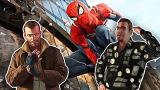 Spider-man - Gta Iv Niko And Roman Easter Egg