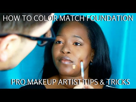 How to Color Match Foundation for WOC Step by Step Makeup Tutorial Pt. 2- mathias4makeup