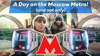 🚆 The World's MOST BEAUTIFUL Metro! (Moscow) 🚆