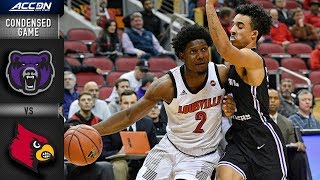 Central Arkansas Vs. Louisville Condensed Game | 2018-19 Acc Basketball